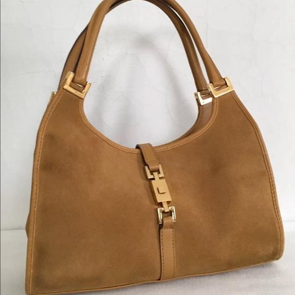 7a686e024 Gucci Bags | Vintage Jackie O Suede Small Hobo | Poshmark